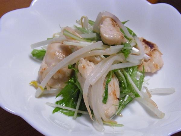 鶏むね肉と野菜のソテー