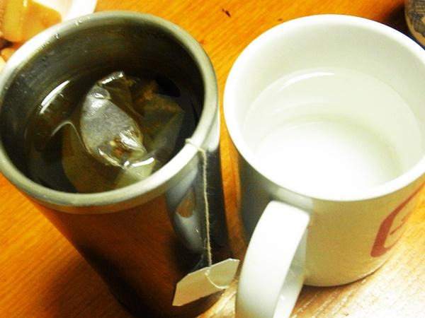 お茶と白湯