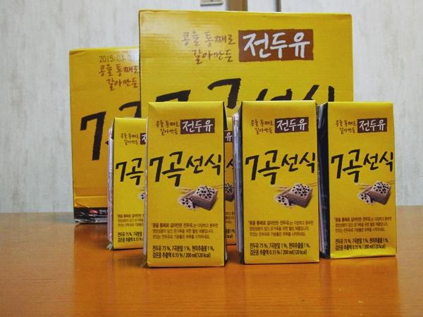 7種の穀物が入った調整豆乳7穀禅食