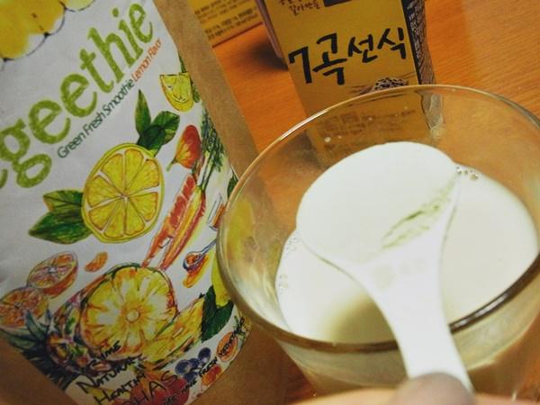 ベジージー+禅食豆乳
