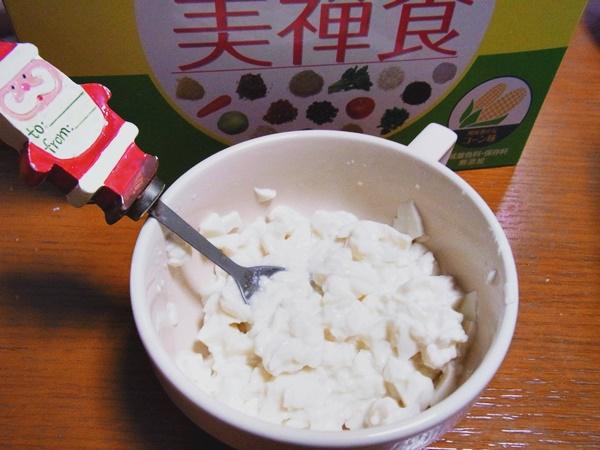 豆腐と美禅食