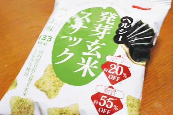 DHCヘルシー発芽玄米スナック のり塩味