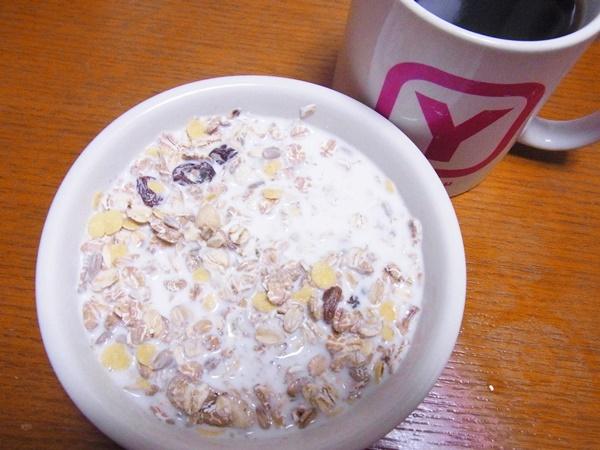 朝食 ミューズリー